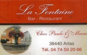 La Fontaine : Bar - Restaurant